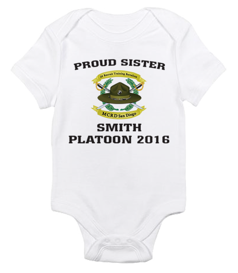 _T-Shirt/Onesie (Toddler/Baby): 2nd Battalion Crest