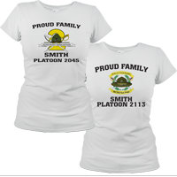_T-Shirt (Ladies): 2nd Battalion Crest