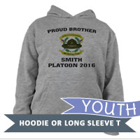 _Youth Hoodie or Long Sleeve Shirt: 2nd Battalion Crest
