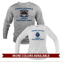 _Long Sleeve Shirt (Unisex or Ladies): 3rd Btn Crest
