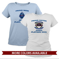 _T-Shirt (Ladies): 3rd Battalion Crest