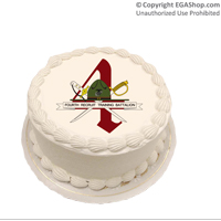 Cake Topper: 4th Battalion Crest