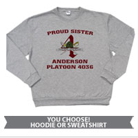 _Hoodie or Sweatshirt: 4th Battalion Crest