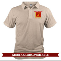 _Polo (Unisex): 1st Battalion Guidon
