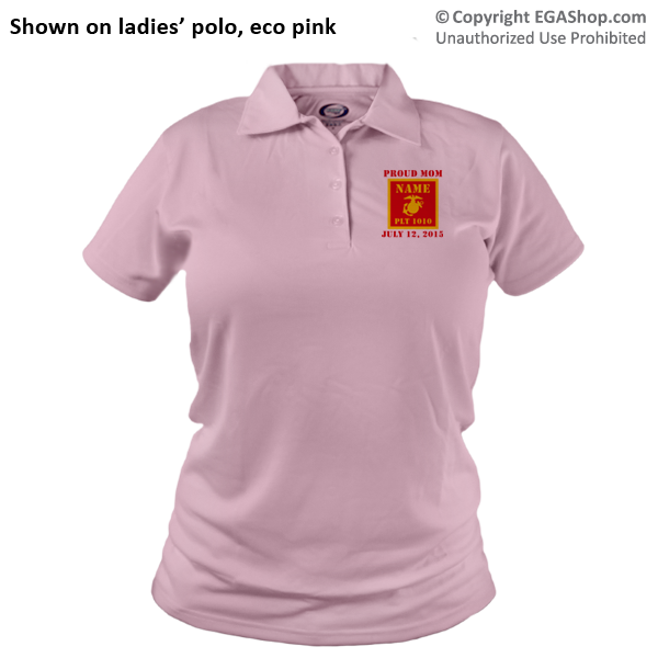 _Polo (Ladies): 1st Battalion Guidon