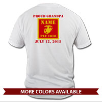 _T-Shirt (Unisex): 1st Battalion Guidon