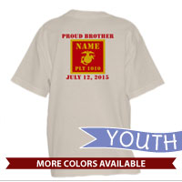 _T-Shirt (Youth): 1st Battalion Guidon