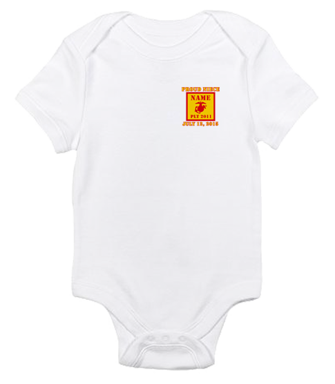 _T-Shirt/Onesie (Toddler/Baby): 2nd Battalion Guidon