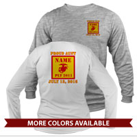 _Long Sleeve Shirt (Unisex): 2nd Battalion Guidon