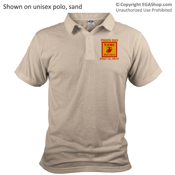 _Polo (Unisex): 2nd Battalion Guidon