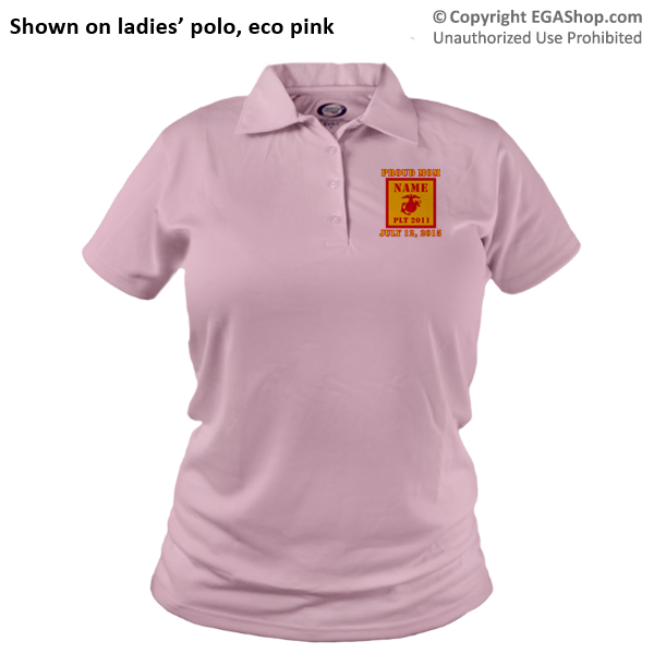 _Polo (Ladies): 2nd Battalion Guidon
