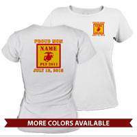 _T-Shirt (Ladies): 2nd Battalion Guidon