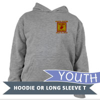 _Youth Hoodie or Long Sleeve Shirt: 2nd Battalion Guidon