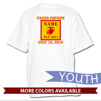 _T-Shirt (Youth): 2nd Battalion Guidon