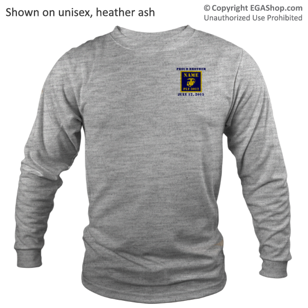 _Long Sleeve Shirt (Unisex or Ladies): 3rd Btn Guidon
