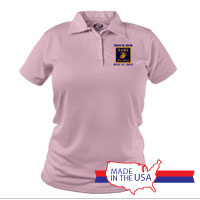 _Polo (Ladies): 3rd Battalion Guidon