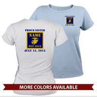 _T-Shirt (Ladies): 3rd Battalion Guidon