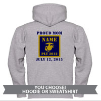 _Sweatshirt or Hoodie: 3rd Battalion Guidon