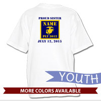 _T-Shirt (Youth): 3rd Battalion Guidon