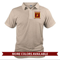 _Polo (Unisex): 4th Battalion Guidon