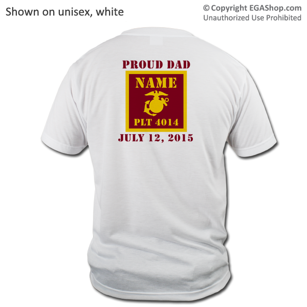 _T-Shirt (Unisex): 4th Battalion Guidon