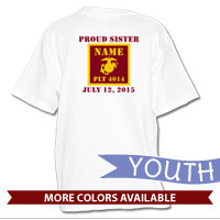 _T-Shirt (Youth): 4th Battalion Guidon