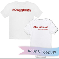 _T-Shirt/Onesie (Toddler/Baby): 1st Battalion Hashtag Strong