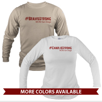 _Long Sleeve Shirt (Unisex): 1st Battalion Hashtag Strong