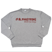 _Sweatshirt: 1st Battalion Hashtag Strong