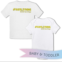 _T-Shirt/Onesie (Toddler/Baby): 2nd Battalion Hashtag Strong