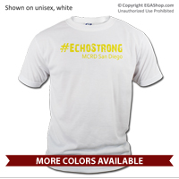 _T-Shirt (Unisex): 2nd Battalion Hashtag Strong