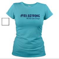 _T-Shirt (Ladies): 3rd Battalion Hashtag Strong