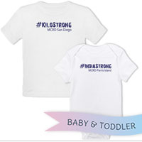 _T-Shirt/Onesie (Toddler/Baby): 3rd Battalion Hashtag Strong