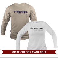 _Long Sleeve Shirt (Unisex or Ladies): 3rd Btn Hashtag Strong