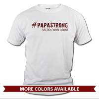 _T-Shirt (Unisex): 4th Battalion Hashtag Strong
