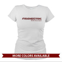 _T-Shirt (Ladies): 4th Battalion Hashtag Strong