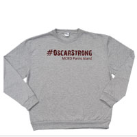 _Sweatshirt: 4th Battalion Hashtag Strong