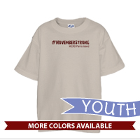 _T-Shirt (Youth): 4th Battalion Hashtag Strong