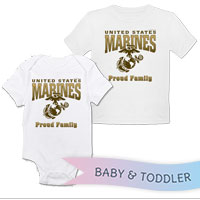 _T-Shirt/Onesie (Toddler/Baby): Proud Family