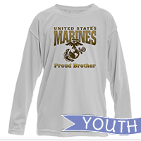 _Youth Performance Long Sleeve Shirt: Proud Family