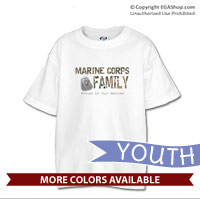 _T-Shirt (Youth): Camo Family