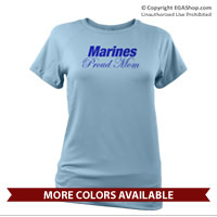 _Performance Shirt: Marines Proud Mom