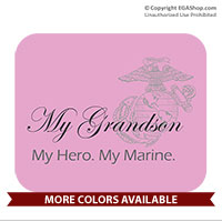 Mousepad: My Hero. My Marine.