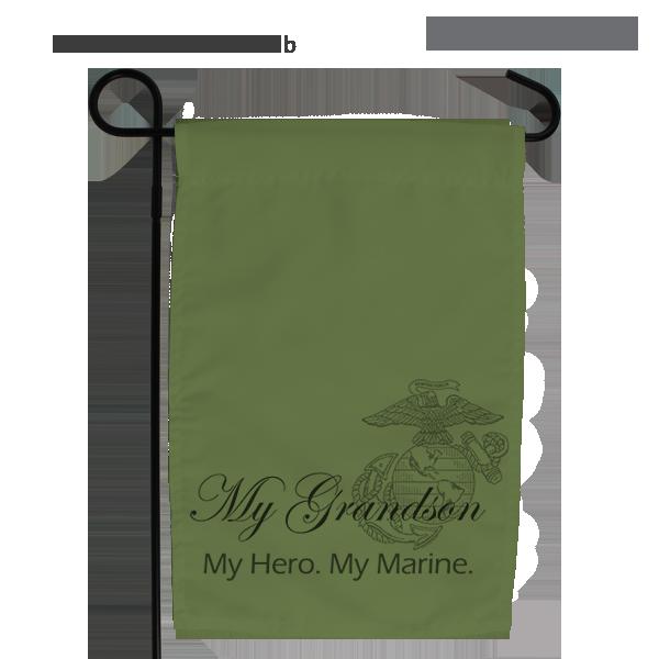 Garden Flag: My Hero. My Marine.