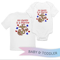 _T-Shirt/Onesie (Toddler/Baby): Kids Art EGA
