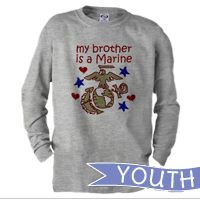 Youth Long Sleeve Shirt: Kids Art EGA