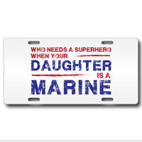 License Plate: Superhero