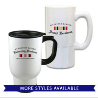 Mugs and Steins: Campaign Ribbons