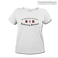 _T-Shirt (Ladies): Campaign Ribbons