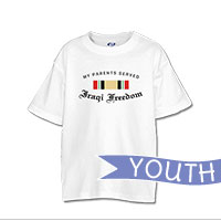 _T-Shirt (Youth): Campaign Ribbons